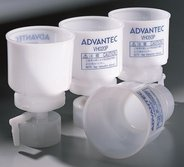 Disposable vacuum filtration unit type VH020P, hydrophilic PTFE, 0.20µm, 350ml. Pack of 10