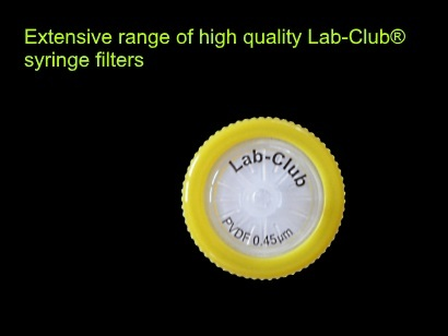 Syringe filters - extended Lab-Club product range